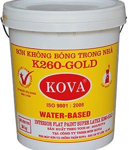 Sơn không bóng trong nhà K260-Gold