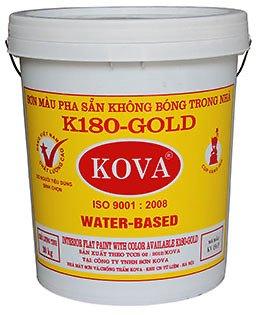 Sơn màu pha sẵn trong nhà K180-Gold