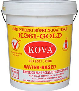 Sơn không bóng ngoài trời K261-Gold