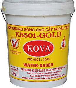 Sơn không bóng cao cấp ngoài trời K5501-Gold