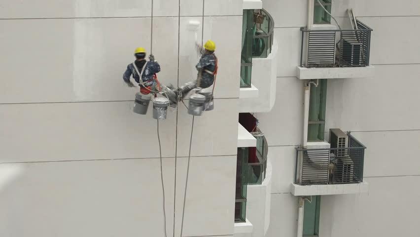 Biện pháp thi công sơn nước nhà cao tầng